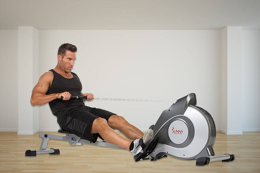 Sunny Health & Fitness Magnetic Rowing Machine Review