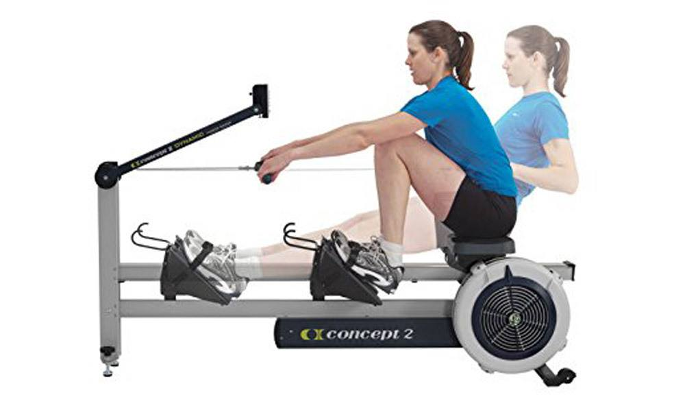 Concept 2 Dynamic Rower Machine