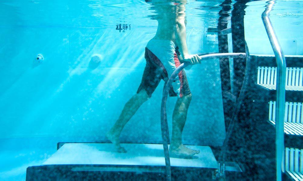 Trainer Gym Reviews What's with the Underwater Treadmill