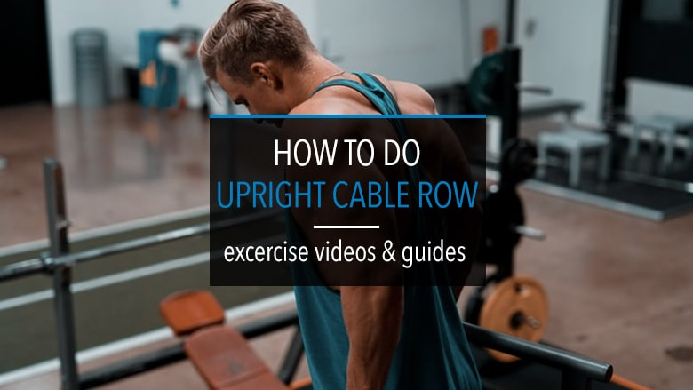 Upright Cable Row