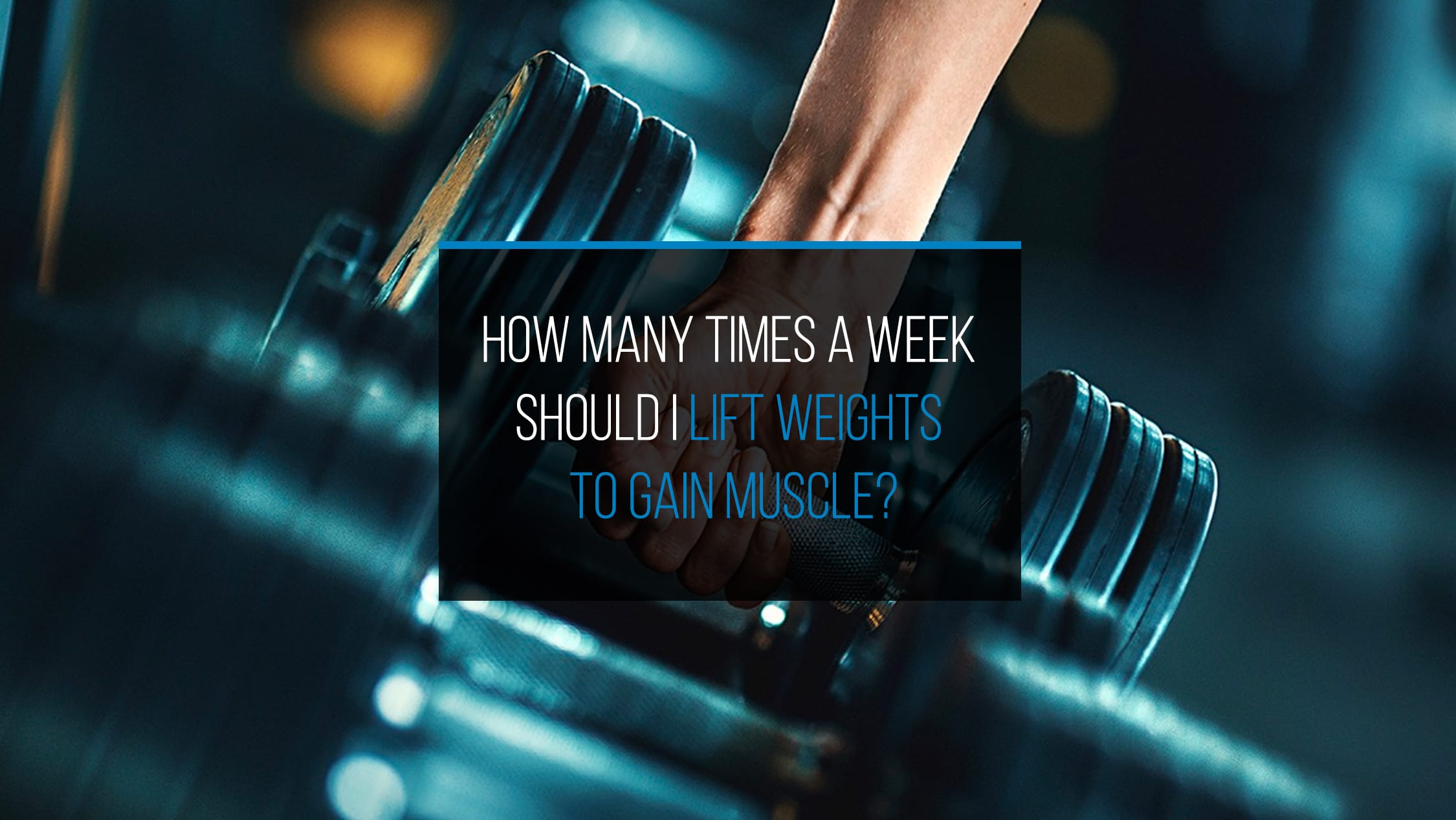 Lift Weights to Gain Muscle