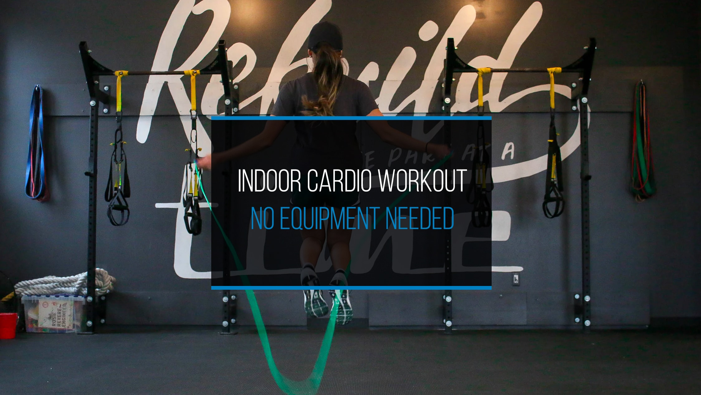 Indoor Cardio Workout - No Equipment Needed